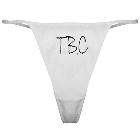 front and back logo thong