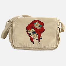 Sugar Skull 4 Messenger Bag
