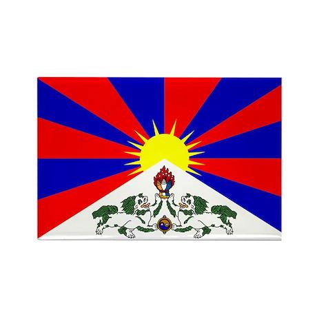 Tibet Rectangle Magnet (10 pack)