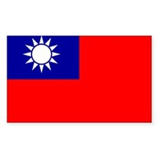 Taiwan Rectangle Decal