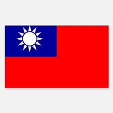 Taiwan Rectangle Decal