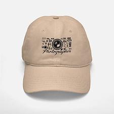 Photographer Icons Set Cap