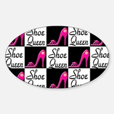 SHOE PRINCESS Sticker (Oval)