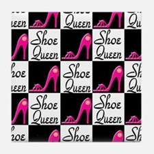 SHOE PRINCESS Tile Coaster