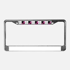 SHOE PRINCESS License Plate Frame
