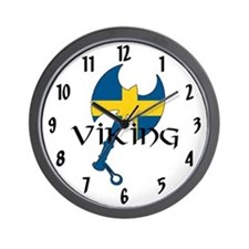 Swedish Viking Wall Clock