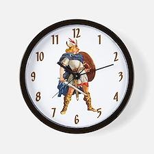 Scandinavian Viking Wall Clock