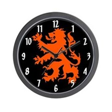 Dutch Lion Wall Clock