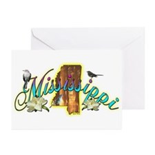 Mississippi Greeting Cards (Pk of 10)