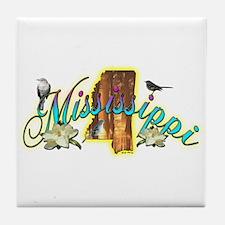 Mississippi Tile Coaster