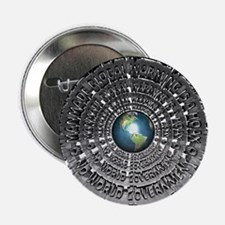 "No World Government 2.25"" Button (10 pack)"