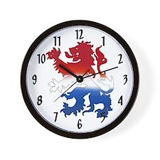 Dutch Lion Wall Clock