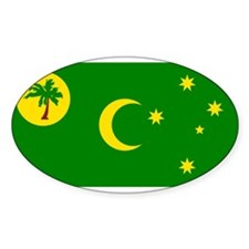The Cocos Islands Oval Decal