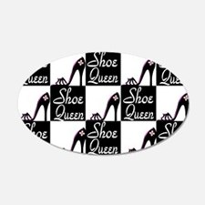 Cute Queen of shoes Wall Decal