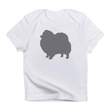 pomeranian gray 3 Infant T-Shirt