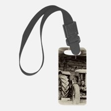 Rusty Old Tractors Luggage Tag
