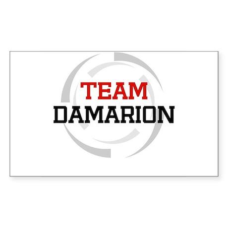 Damarion Rectangle Sticker