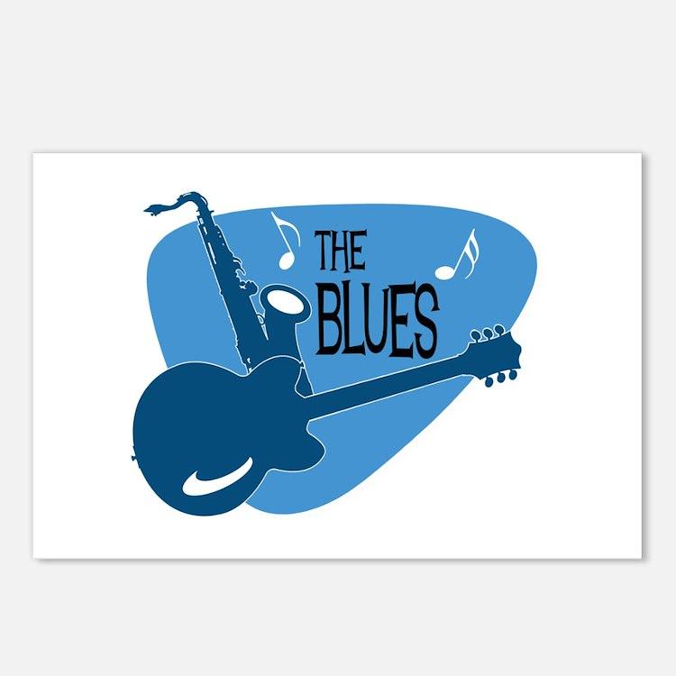 Cute Blues Postcards (Package of 8)