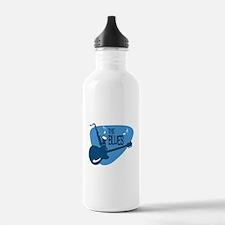 Cute Blues music Water Bottle