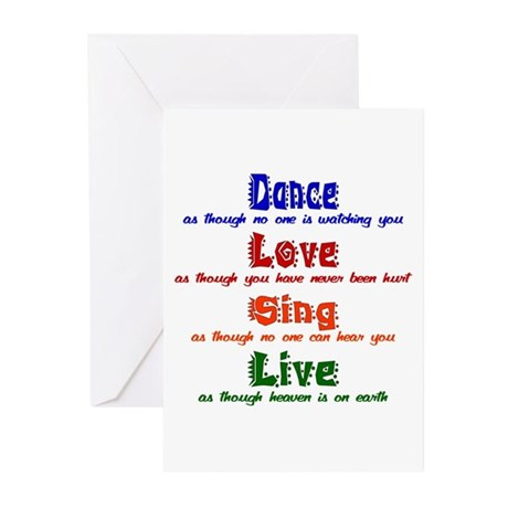 Dance_Greeting Cards (Pk of 10)