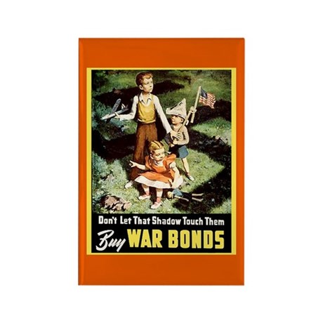 Buy War Bonds Rectangle Magnet