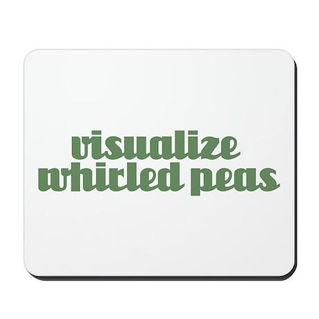 VISUALIZE PEAS Mousepad