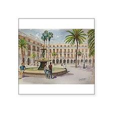 Plaça Reial Sticker