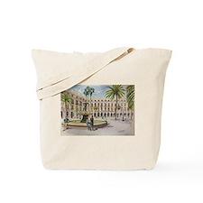 Cute Barcelona Tote Bag