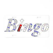 Bingo Light Mosh Aluminum License Plate