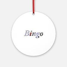 Bingo Dark Mosh Ornament (Round)
