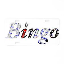 Bingo Dark Mosh Aluminum License Plate