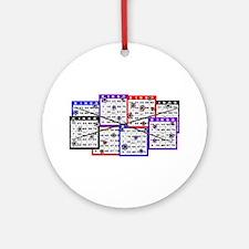 Bingo Anger Ornament (Round)