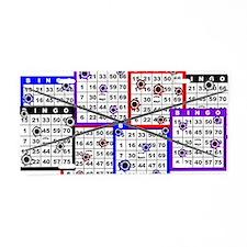 Bingo Anger Aluminum License Plate