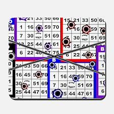 Bingo Anger Mousepad