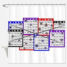 Bingo Anger Shower Curtain