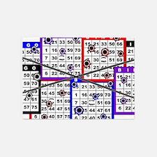 Bingo Anger 5'x7'Area Rug
