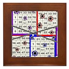 Bingo Anger Framed Tile