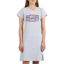 Bingo Anger Women's Nightshirt