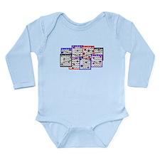 Bingo Anger Long Sleeve Infant Bodysuit