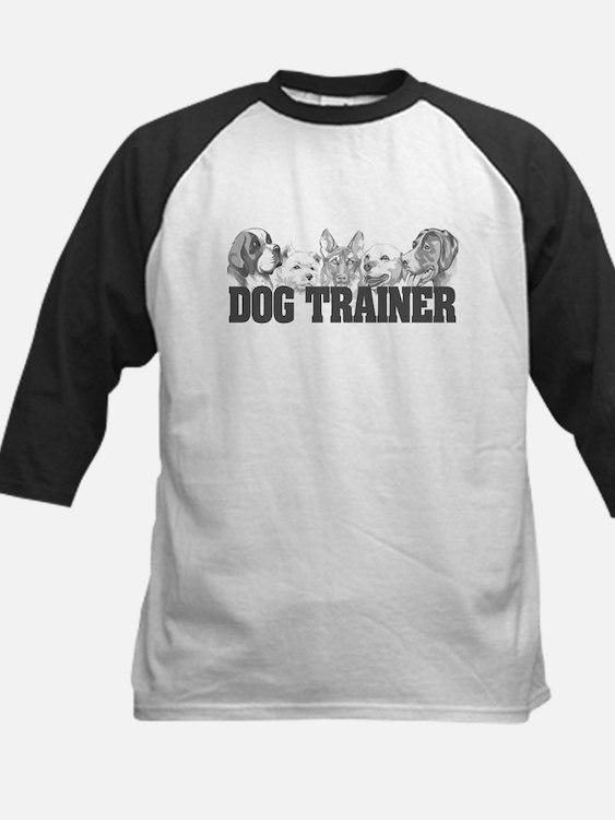 Dog Trainer Kids Baseball Jersey