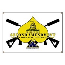 Cute Gun rights Banner