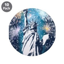 """Funny Liberty 3.5"""" Button (10 pack)"""