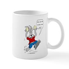 A racing hare Mugs