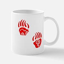 Red bear claws Mugs