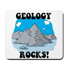 Geology Rocks! Mousepad