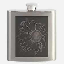 Black and White Fibonacci Sequence Flask