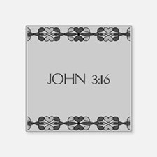 John 3:16 Bible Verse Sticker