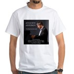 "Men White T-Shirt ""An American Journey"""