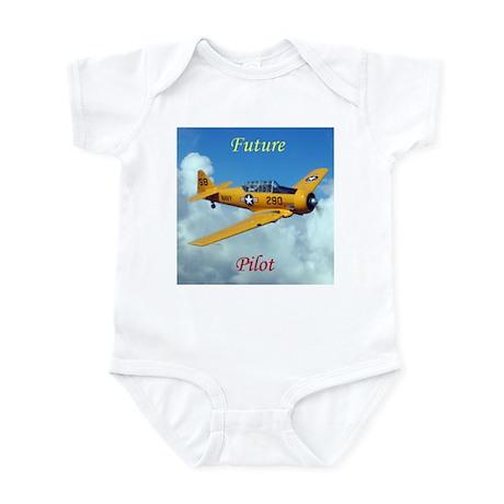 Future pilot baby onesie