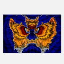 Fractal Butterfly Postcards (Package of 8)